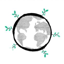 Goodwings green globe
